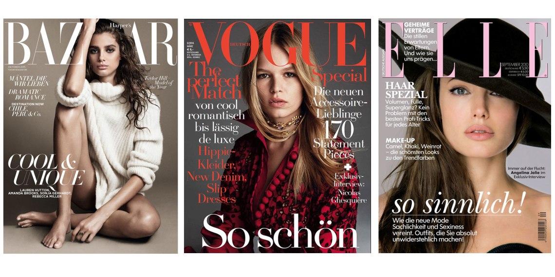 Modezeitschriften