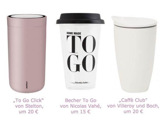 Mehrweg Kaffee-to-Go Becher